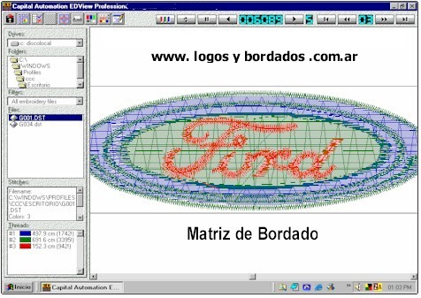 Matriz de Bordado